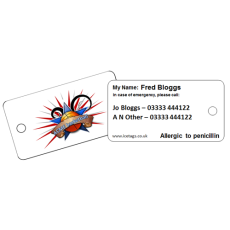 Customised Medical Tags for Charities