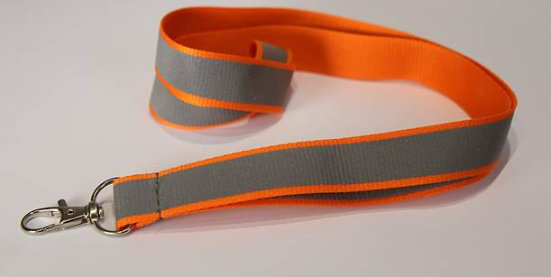 Hi-Viz lanyards with H&S breakaway