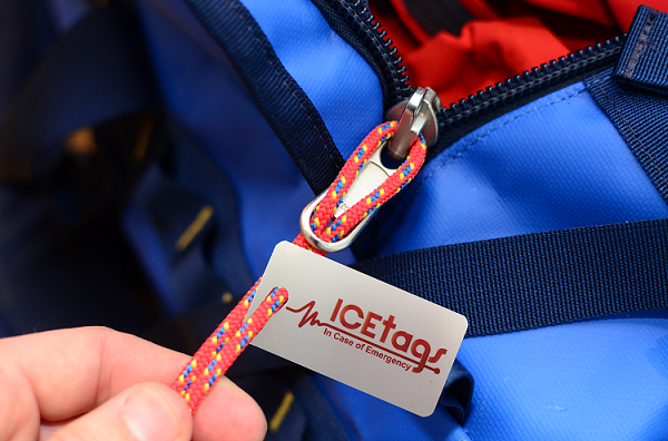 ICEtag on zip