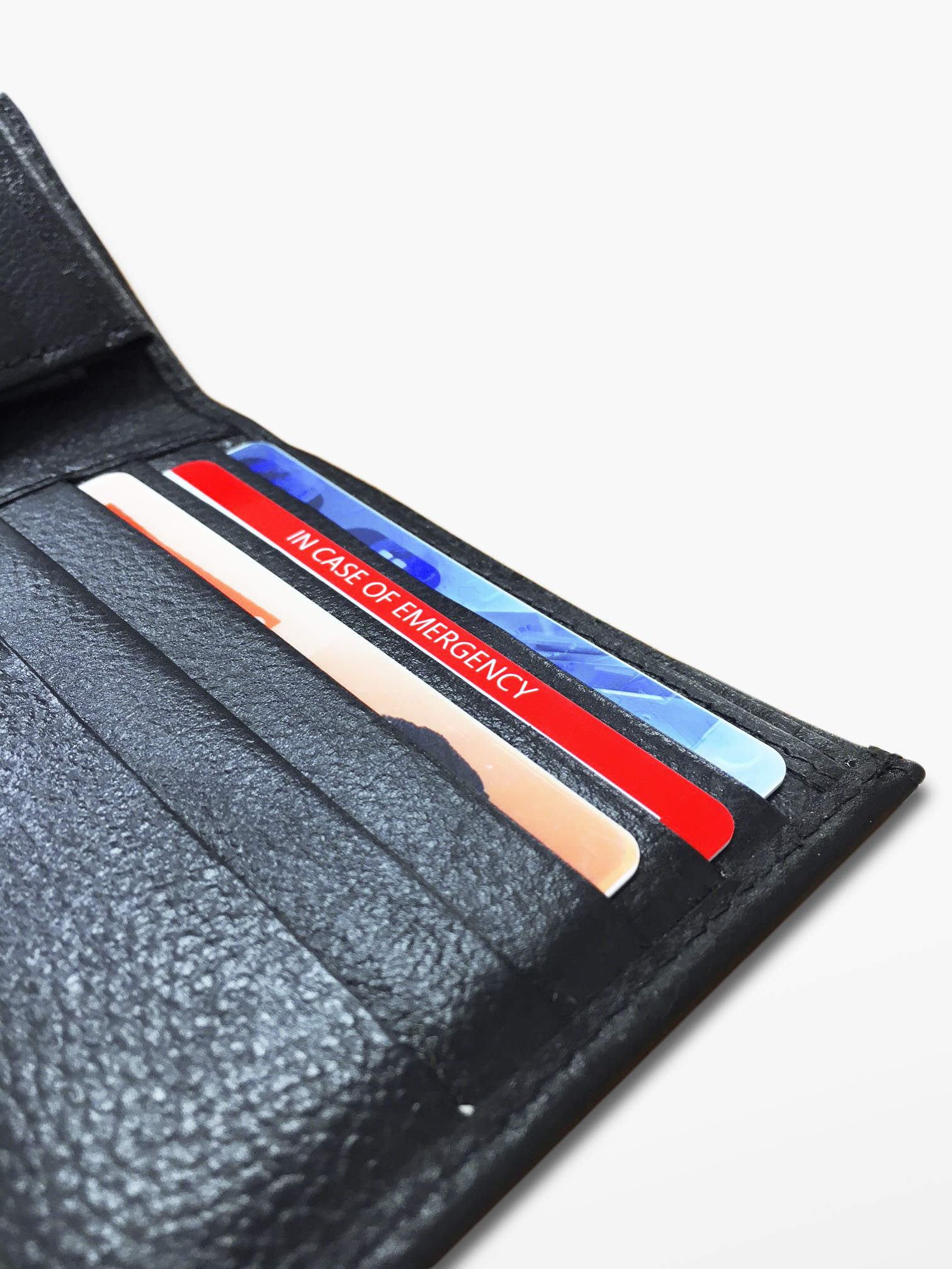 ICEtags wallet card in wallet